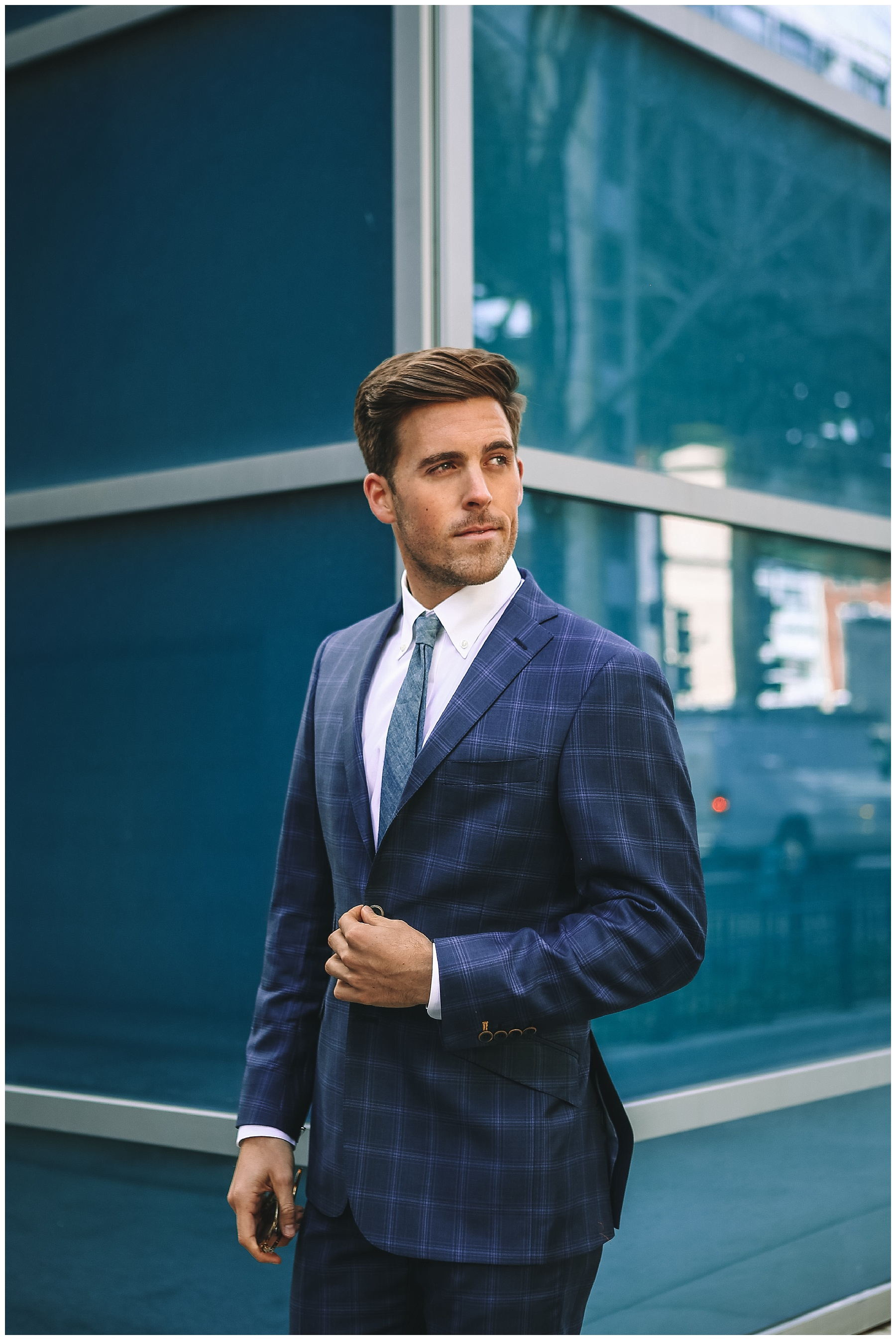 John Philp Thompson Menswear Blogger Travel Suit