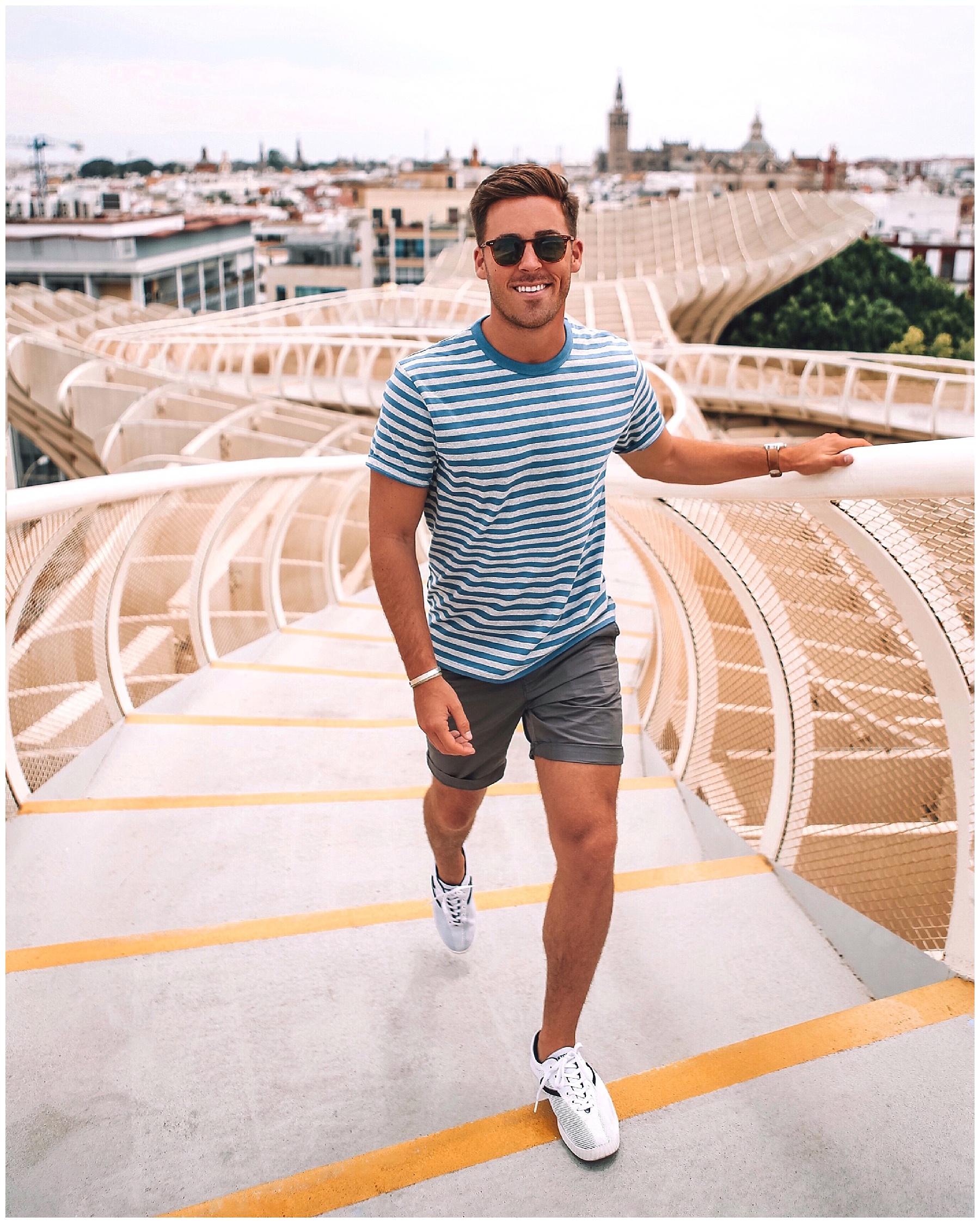 John Philp Thompson Menswear Travel Blogger Influencer Sneaker