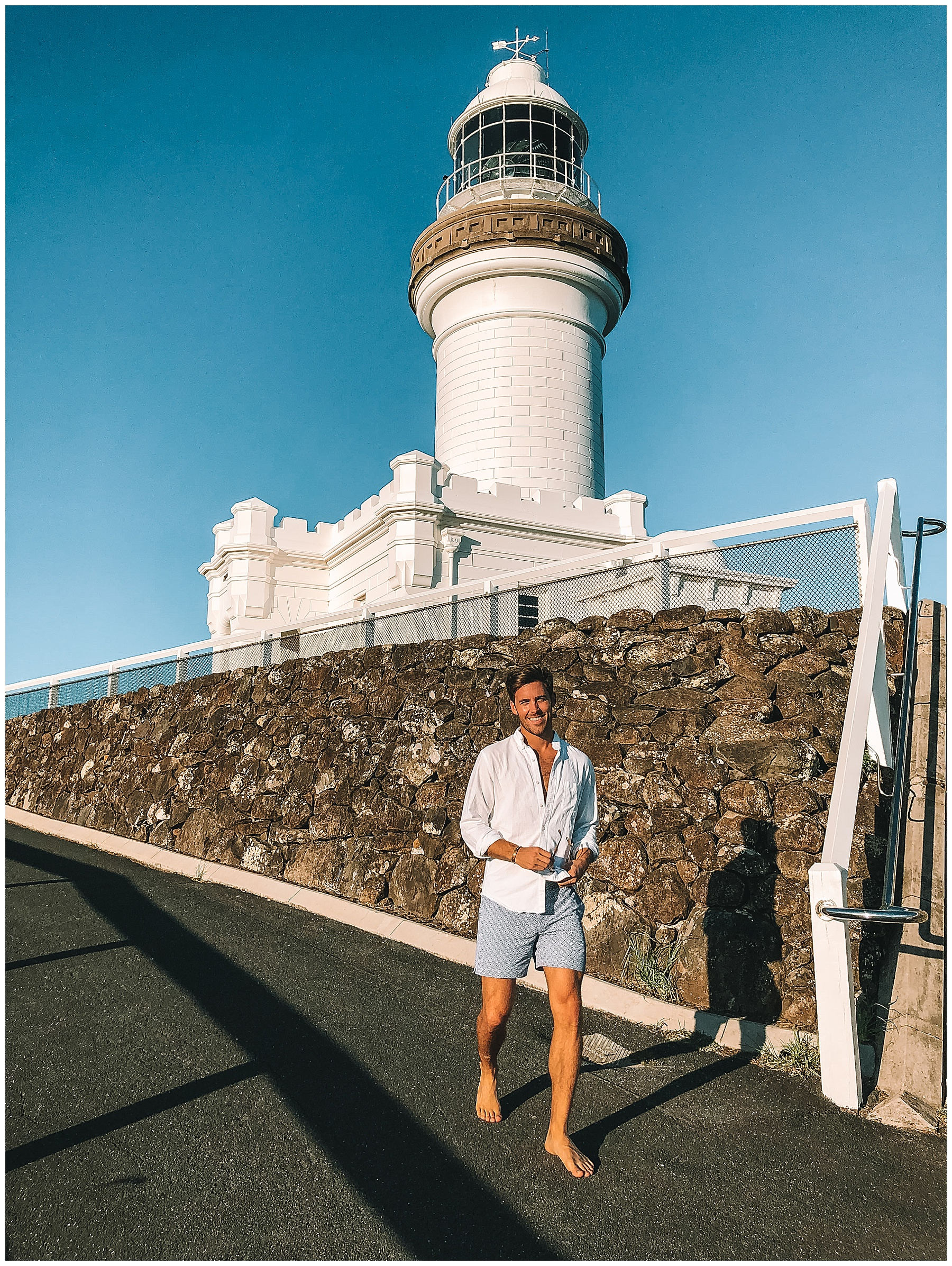 John Philp Thompson Menswear Travel Byron Bay Australia